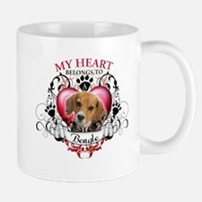 My Heart Belongs to a Beagle Mug