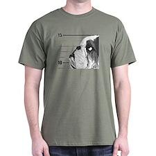 Black Bulldog T-Shirt