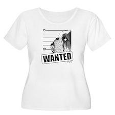Black Bulldog Wanted T-Shirt
