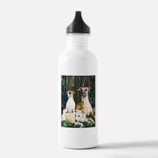 whippet family grouping Water Bottle