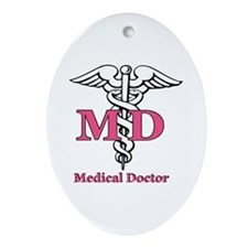Doctor Ornament (Oval)