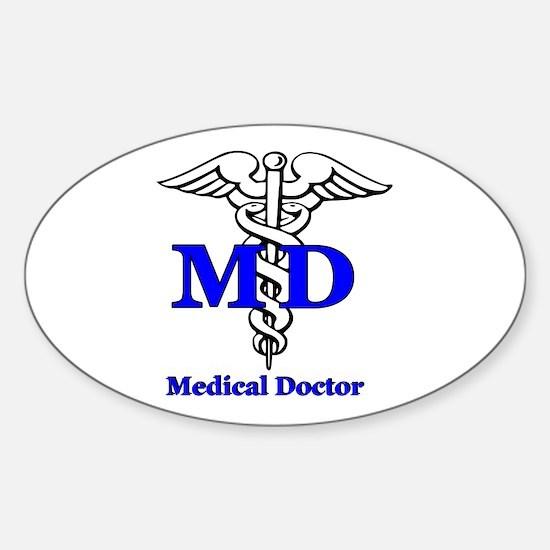 Doctor Sticker (Oval)