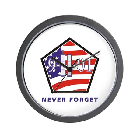 NEVER Forget - Wall Clock