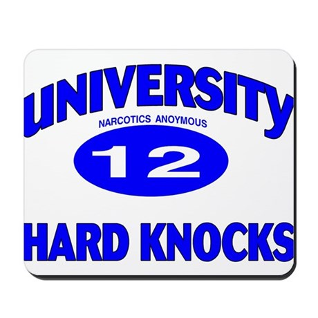 na uv hard knocks Mousepad