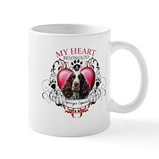 My Heart Belongs to a Springer Spaniel Mug