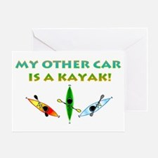 My Other Car Is a Kayak Greeting Card