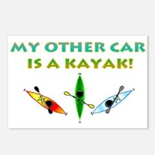 My Other Car Is a Kayak Postcards (Package of 8)
