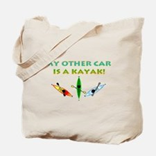 My Other Car Is a Kayak Tote Bag
