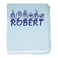 ROBERT baby blanket