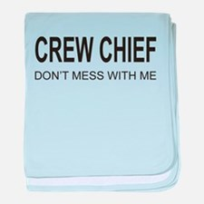 Crew Chief baby blanket