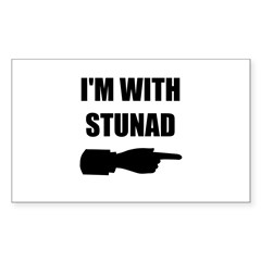 I'm With Stunad Decal