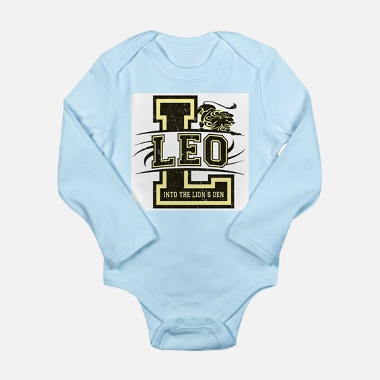 Leo Long Sleeve Infant Bodysuit