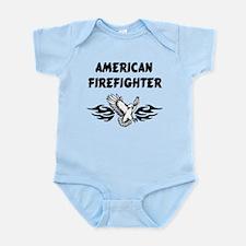 American Firefighter Infant Bodysuit