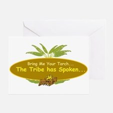 The tribe has spoken. Greeting Card