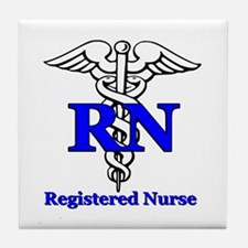 Registered Male Nurse Tile Coaster