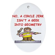math joke Ornament (Oval)