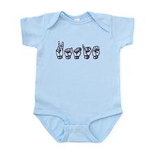 Katie/ASL only Infant Bodysuit