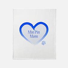 Unique Minpin Throw Blanket