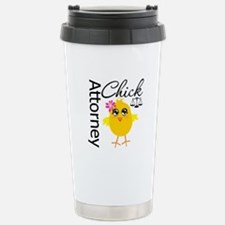 Attorney Chick Travel Mug