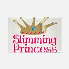 Slimming Princess Rectangle Magnet