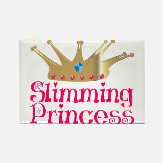 Slimming Princess Rectangle Magnet