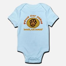 Paws for Peace Infant Bodysuit