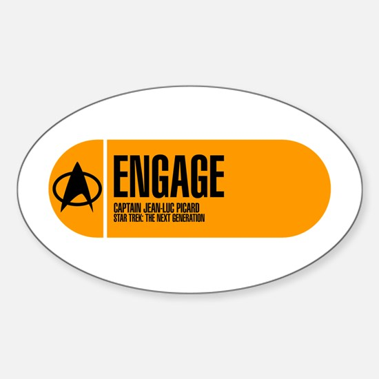 Engage Sticker (Oval)