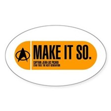 Make It So Decal