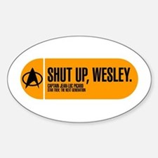 Shut Up Wesley Decal