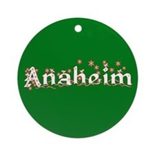 Anaheim Ornament (Round)
