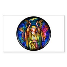 Angelicon Art Nouveau Angel Decal
