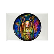 Angelicon Art Nouveau Angel Rectangle Magnet