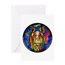 Angelicon Art Nouveau Angel Greeting Card