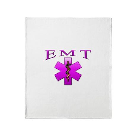 EMT(pink) Throw Blanket