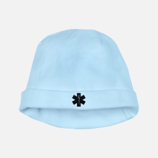 Star of Life(BW) baby hat