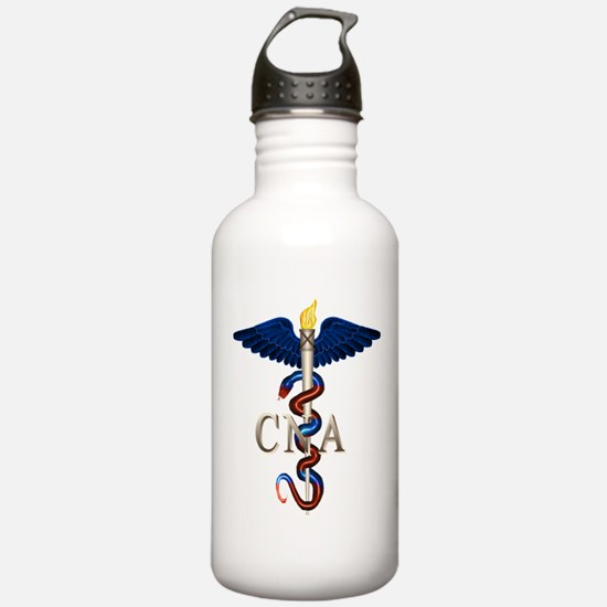 CNA Caduceus Water Bottle
