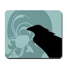 Raven & Skull Mousepad