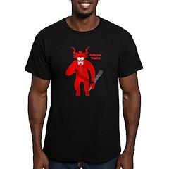 Dark Krampus Men's Fitted Shirt