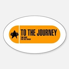 To the Journey Sticker (Oval)