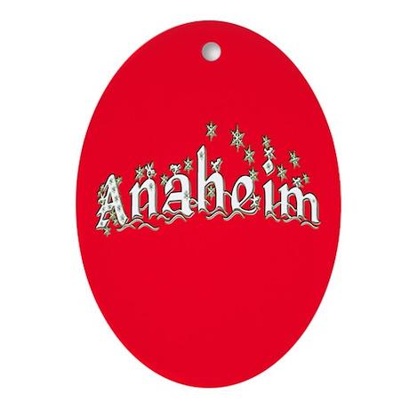 Anaheim Ornament (Oval)