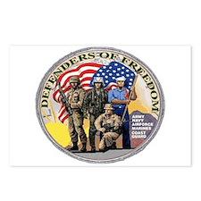 FREEDOM DEFENDERS Postcards (Package of 8)