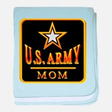 Army Mom baby blanket