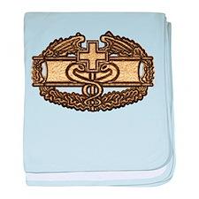 Combat Medic(gold) baby blanket