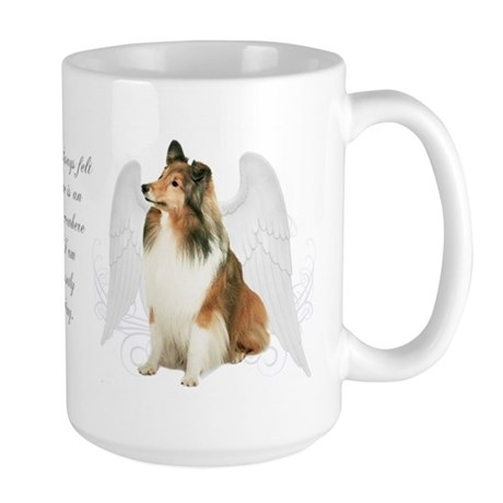 Sheltie Angel Large Mug