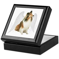 Sheltie Angel Keepsake Box