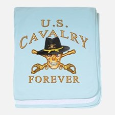 Cavalry Forever baby blanket