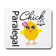 Paralegal Chick Mousepad