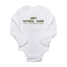 Guard Veteran Long Sleeve Infant Bodysuit