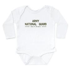 Retired Guard Long Sleeve Infant Bodysuit