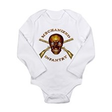 Mechanized Infantry Long Sleeve Infant Bodysuit